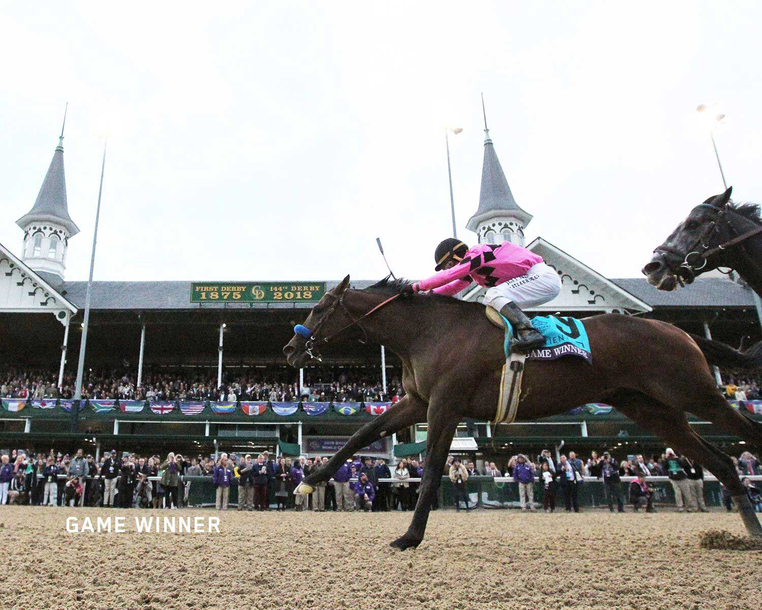 Game Winner wins the Breeders' Cup Juvenile Grade 1