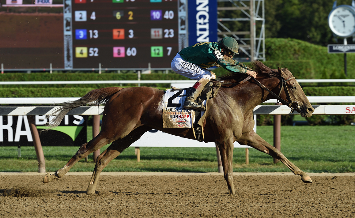 Code Of Honor Winning The Travers